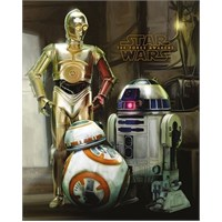 Pyramid International Mini Poster Star Wars Ep7 Droids