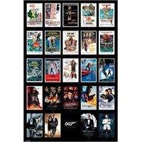 Pyramid International Maxi Poster James Bond Movie Posters