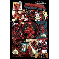Pyramid International Maxi Poster Deadpool Panels