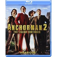 Anchorman 2: The Legend Continiues (Blu-Ray Disc)