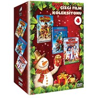 Sony New Year Animation Box Set 4 (Sony Yeni Yıl Çizgi Film Seti 4) (DVD)