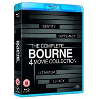The Complete Bourne 4 Movie Collection (Bourne 4 BD Koleksiyon)