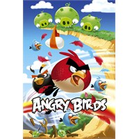 Angry Birds Attack Maxi Poster