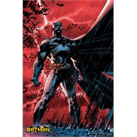 Batman Comic Red Rain Maxi Poster