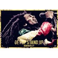 Bob Marley Get Up Maxi Poster