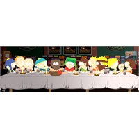 South Park Last Supper Door Poster