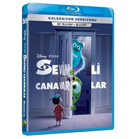 Monsters, Inc. (Sevimli Canavarlar) (3D Blu-Ray Disc)