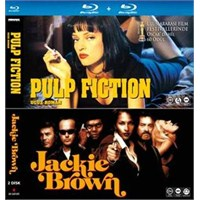 Pulp Fiction-Jackie Brown (Blu-Ray Disc)