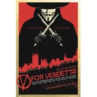 V For Vendetta One Sheet Maxi Poster