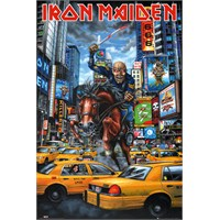 Iron Madien Newyork Maxi Poster
