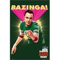 The Big Bang Theory Bazinga Maxi Poster
