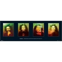 Bob Marley Faces Midi Poster