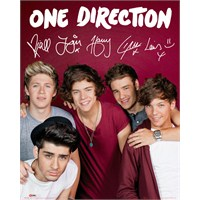 One Direction Maroon Mini Poster