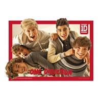 One Direction Band 3D Poster