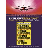 Elton John - Dream Tıcket / Four Destınatıons Four Dvd's