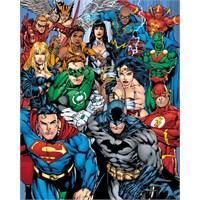 Dc Comics Cast Mini Poster