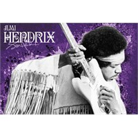 Jimi Hendrix Purple Maxi Poster