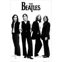 The Beatles White Maxi Poster