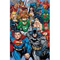 Dc Comics Collage Maxi Poster