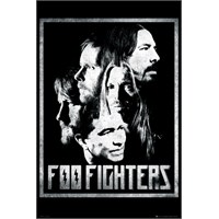 Foo Fighters Group Maxi Poster
