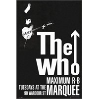 The Who Maximum R&B Maxi Poster