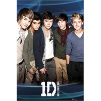 One Direction Blue Maxi Poster