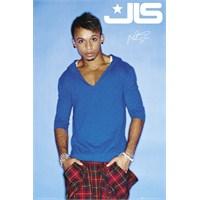Jls Aston Blue Maxi Poster