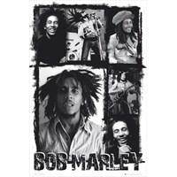 Bob Marley Photo Collage Maxi Poster