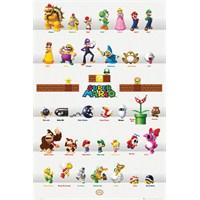 Nintendo Characters Maxi Poster