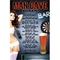 Man Cave Maxi Poster