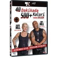 Tk 500 Vol 2: 40 Dakikada 500+ Kalori Yakarak Sıkılaşın (DVD)