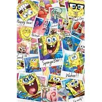 Sponge Bob Polaroıds Maxi Poster