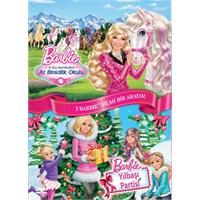 Barbie: Kız Kardeşleri & At Binicilik Okulu + Yılbaşı Partisi İkili Paket (VCD)