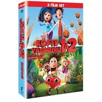 Cloudy With a Chance of Meatballs 1+2 Boxset (Köfte Yağmuru 1+2 Boxset) (DVD)