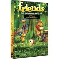 Friends Naki on the Monster Island (Sevimli Canavarlar) (DVD)