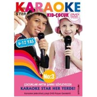 Karaoke Star No:3 Kid-Çocuk (Mikrofonsuz)