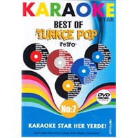 Karaoke Star No:7 Best of Türkçe Pop - Retro