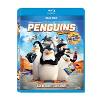 Penguins Of Madagascar (Madagaskar Penguenleri) (3D+2D Blu-Ray Disc)