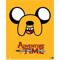Adventure Time Jake Mini Poster