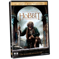 The Hobbit: The Battle Of The Five Armies (Hobbit : Beş Ordunun Savaşı) (DVD) (2 Disc Özel Versiyon)