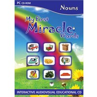 My First Miracle Words: Nouns