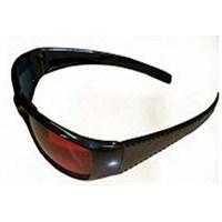 Xtan 3D (3 Boyutlu) Gözlük Oval (Kırmızı-Mavi) (Özel Kutulu)