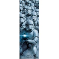 Star Wars Troopers Door Poster