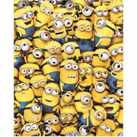 Many Minions Mini Poster