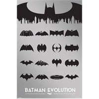 Maxi Poster Batman Evolution