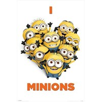 Maxi Poster Despicable Me I Love Minions