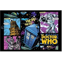 Maxi Poster Doctor Who Comic Layout
