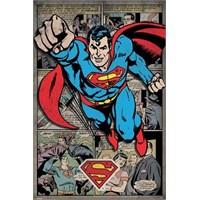 Maxi Poster Superman Comic Montage