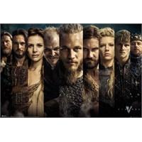 Vikings Grid Maxi Poster
