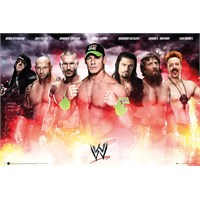 Wwe (Smack Down) Collage Maxi Poster
